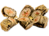 Crispy sushi roll