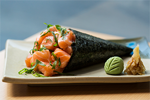 Speciaal aanbevolen  Aburi Nigiri sushi